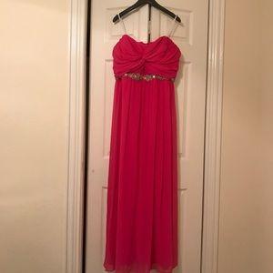 Hot Pink Plus Size Prom Dress! 💗
